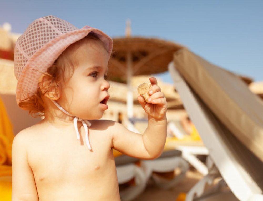 Krem przeciwsłoneczny dla niemowląt